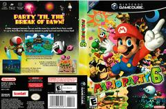 Artwork - Back, Front | Mario Party 6 Gamecube