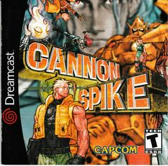Manual - Front | Cannon Spike Sega Dreamcast
