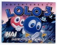 Adventures Of Lolo 3 - Instructions | Adventures of Lolo 3 NES