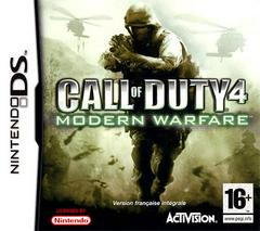 Call of Duty 4 Modern Warfare PAL Nintendo DS Prices
