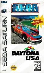Manual - Front | Daytona USA Sega Saturn