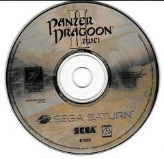Game Disc   Panzer Dragoon II Zwei Sega Saturn