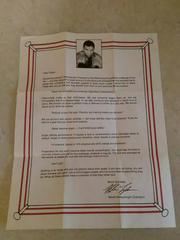 Letter From Mike Tyson   Mike Tyson's Punch-Out NES