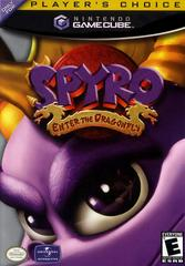 Case - Front (Player'S Choice) | Spyro Enter the Dragonfly Gamecube