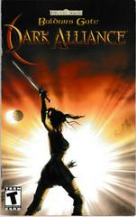 Manual - Front | Baldur's Gate Dark Alliance Playstation 2