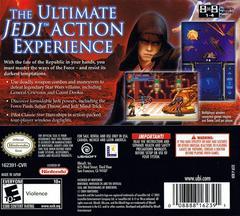 Case - Back   Star Wars Episode III Revenge of the Sith Nintendo DS
