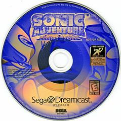 Game Disc | Sonic Adventure [Limited Edition] Sega Dreamcast