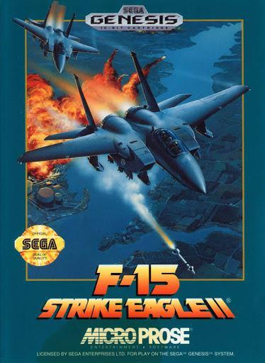 F-15 Strike Eagle II [Cardboard Box] Cover Art