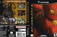 Case - Cover Art | Spiderman 2 Gamecube