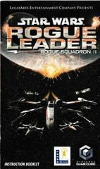 Manual - Front | Star Wars Rogue Leader Gamecube