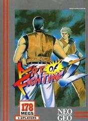 Art of Fighting 2 Neo Geo Prices