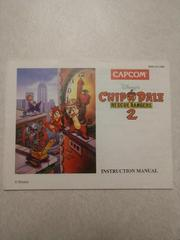 Manual | Chip and Dale Rescue Rangers 2 NES