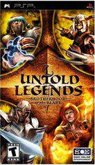Untold Legends Brotherhood of the Blade PSP Prices