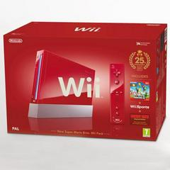 Red Nintendo Wii System PAL Wii Prices
