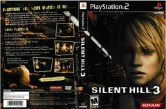 Artwork - Back, Front | Silent Hill 3 Playstation 2