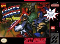 Captain America and the Avengers Super Nintendo Prices