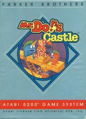 Mr. Do! Castle - Front | Mr. Do!'s Castle Atari 5200