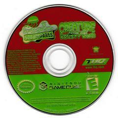 Game Disc | SpongeBob SquarePants Creature from Krusty Krab Gamecube