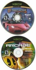 Discs | Project Gotham Racing 2 & Xbox Live Arcade Xbox