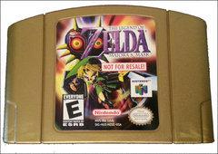 Zelda Majora's Mask [Not for Resale Gold] Nintendo 64 Prices