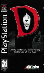Manual - Front   D [Long Box] Playstation