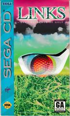 Manual - Front   Links The Challenge of Golf Sega CD