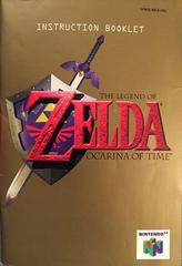 Manual | Zelda Ocarina of Time Nintendo 64