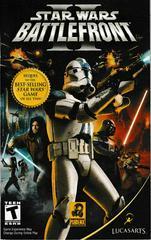 Manual - Front | Star Wars Battlefront 2 Playstation 2