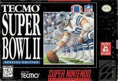 Tecmo Super Bowl II Special Edition Super Nintendo Prices