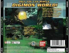 Back Of Case | Digimon World Playstation