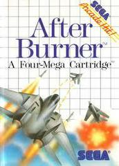 After Burner - Front | After Burner Sega Master System