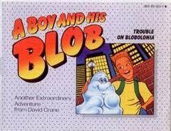 A Boy And His Blob Trouble On Blobolonia - Instruc | A Boy and His Blob Trouble on Blobolonia NES