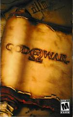 Manual - Front | God of War Playstation 2