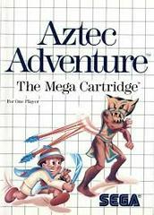 Aztec Adventure - Front | Aztec Adventure Sega Master System