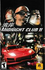 Manual - Front | Midnight Club 2 Playstation 2
