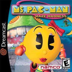Ms. Pac-Man Maze Madness Sega Dreamcast Prices