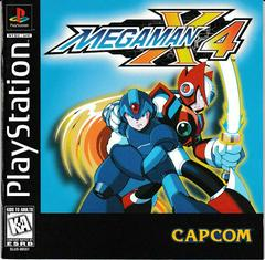 Manual - Front | Mega Man X4 Playstation