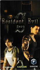 Manual - Front | Resident Evil Zero Gamecube