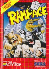 Rampage - Front | Rampage Sega Master System