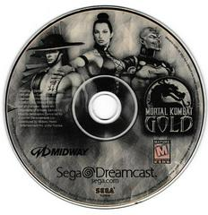 Game Disc - Version 1 (Gold Tint) | Mortal Kombat Gold Sega Dreamcast