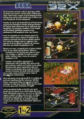 Zaxxon Motherbase 2000 - Back | Zaxxon Motherbase 2000 Sega 32X