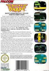 Bucky O'Hare - Back | Bucky O'Hare NES