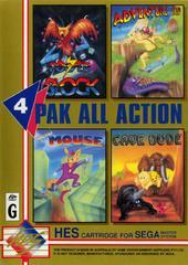 4 Pak All Action PAL Sega Master System Prices