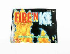 Fire 'N Ice - Instructions | Fire 'N Ice NES