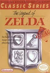 Legend Of Zelda - Front | Legend of Zelda [Gray Cart] NES