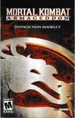 Manual - Front | Mortal Kombat Armageddon Playstation 2