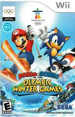 Manual - Front | Mario and Sonic Olympic Winter Games Wii