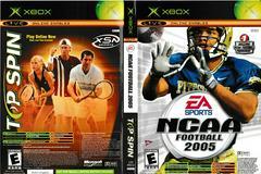 Artwork - Back, Front | NCAA Football 2005 Top Spin Combo Xbox