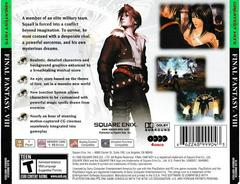Back Of Case | Final Fantasy VIII [Greatest Hits] Playstation
