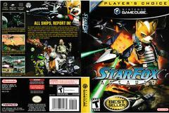 Artwork - Back, Front (Players Choice)   Star Fox Assault Gamecube